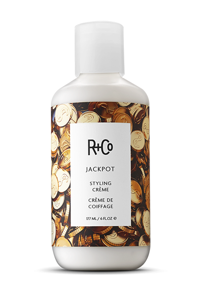 <b>JACKPOT</b><br>Styling Crème<br><i>Everyone's a Winner. For Everything From <br> A Slicked Back Look To A Perfect Blow-Out<br>$25</br></i>