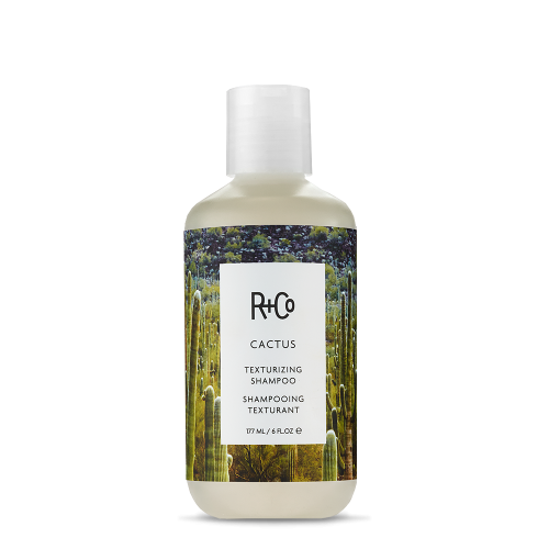 <b>CACTUS</b></br> Texturizing Shampoo</br><i>Texture Is A Beautiful Thing<br>Bring Out Hairs Natural Wave With THis Texture Building Shampoo</br>$24.</i>