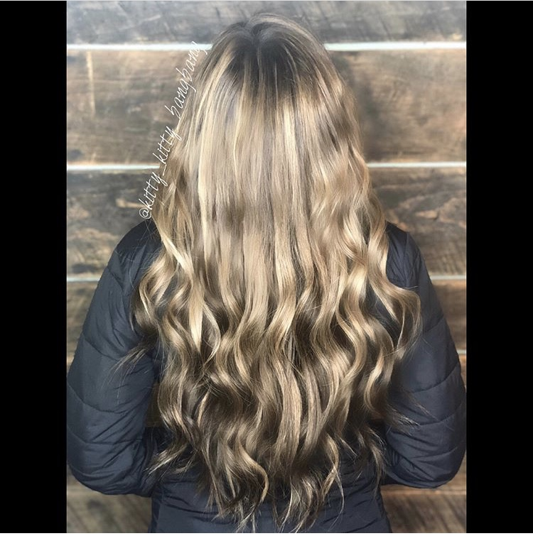 Studio Chavarria of Asheville Mermaid Hair Extension - After