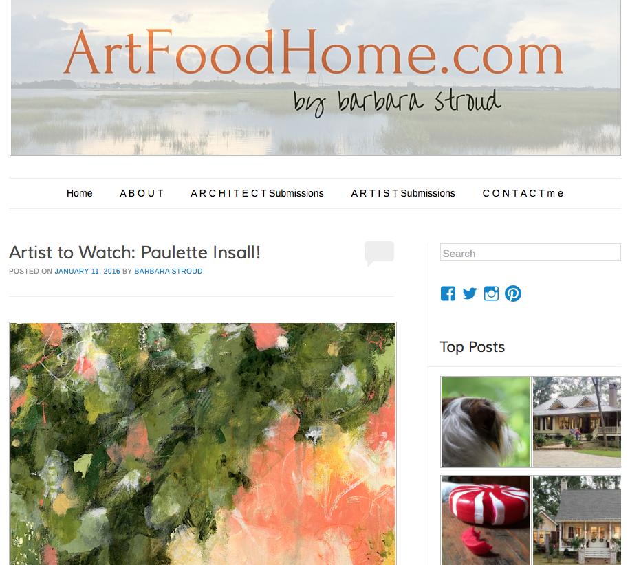press — Blog of Paulette Insall, Abstract Art | Impressionist