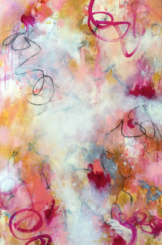 """AS LOVE SWEPT LOW 24"""" x 36"""""""
