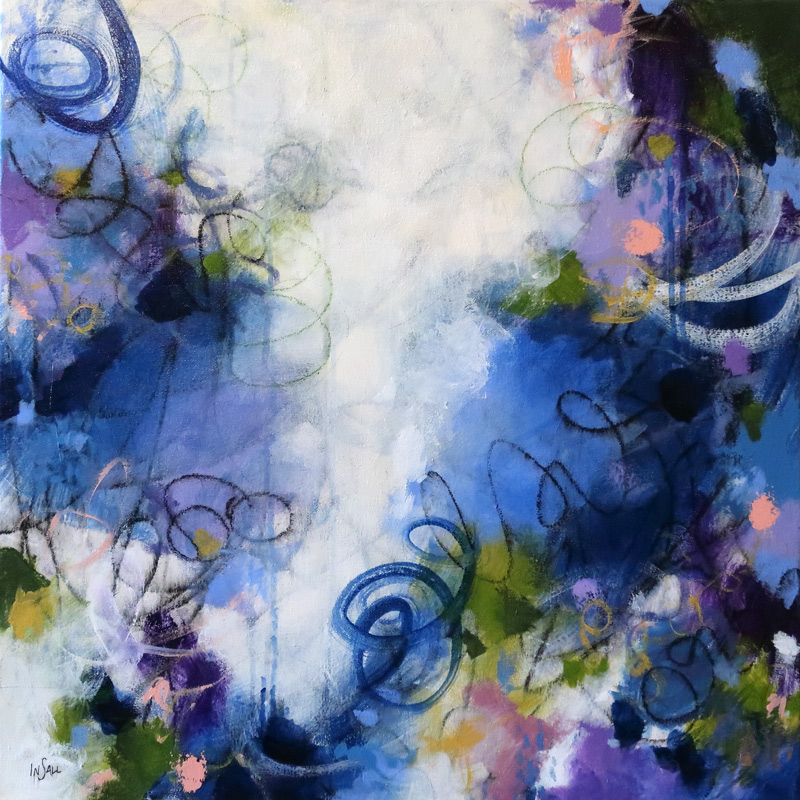 """WINDS OF THE SPIRIT 24""""X24"""""""