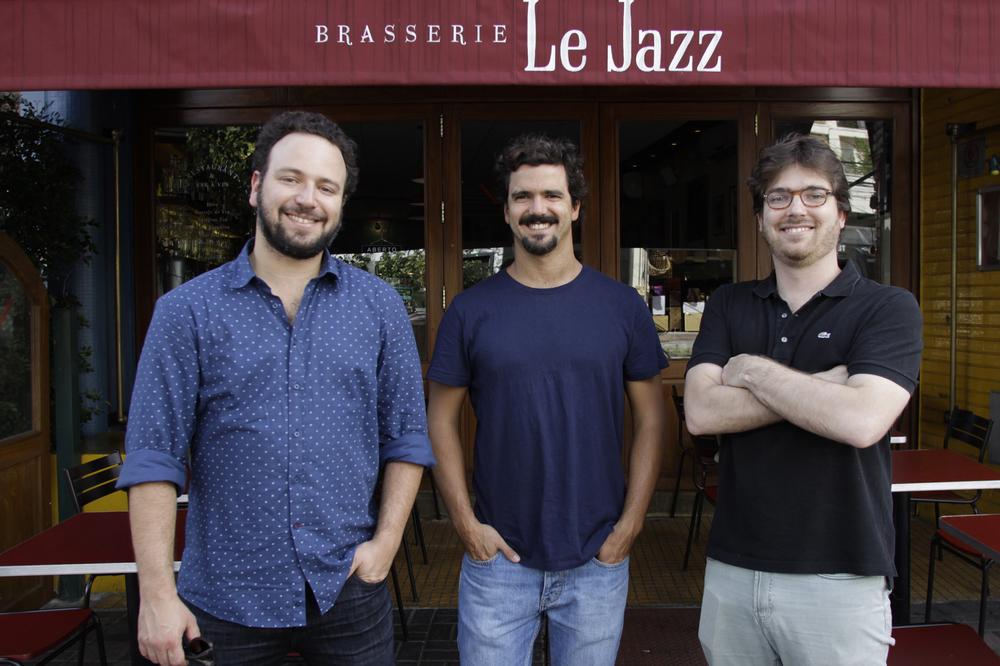 Gil Carvalhosa, Paulo Bitelman e Chico Ferreira