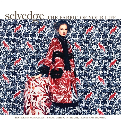 Selvedge issue 63: The Pattern Issue - on sale now!