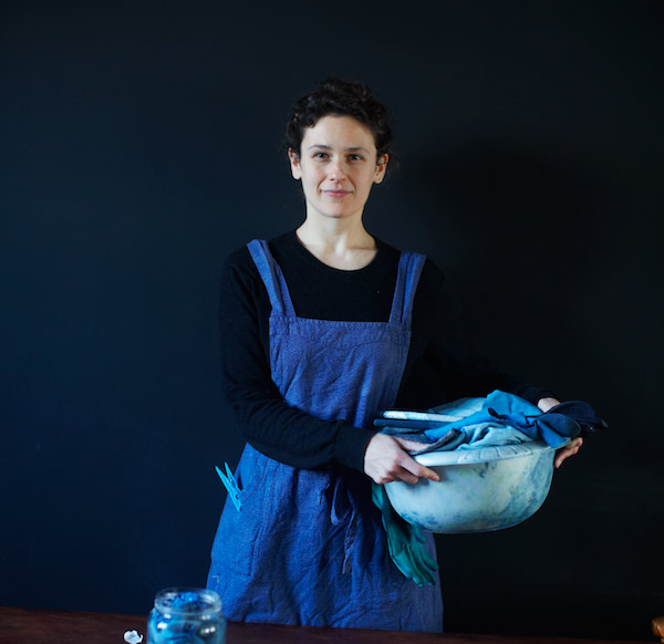 Textile designer / artist / practitioner, indigo expert and thoroughly lovely person Katherine May