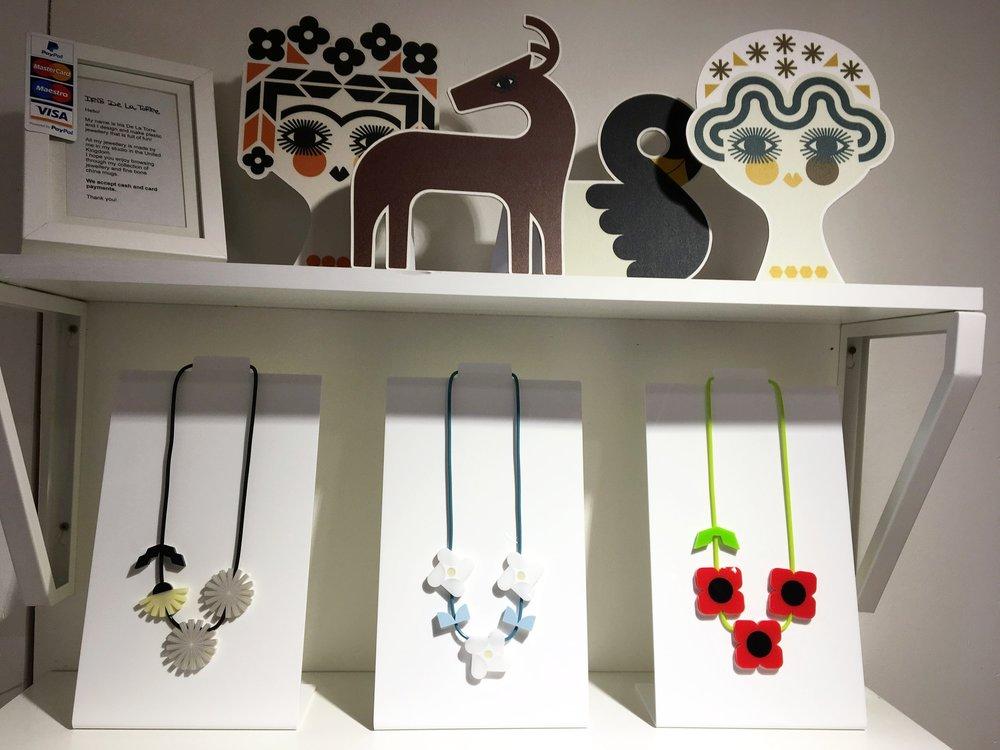 Iris de la Torre's super fun jewellery