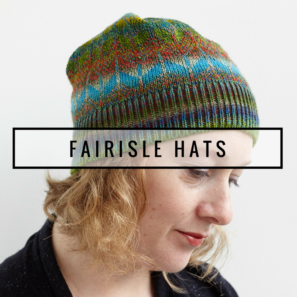 LOGO FAIRISLE HATS