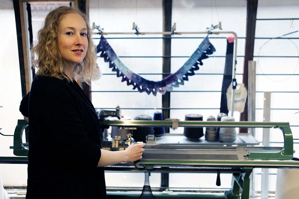 Layla Chelache Knitwear Designer