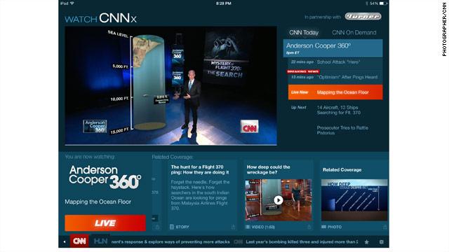 """CNN Unveils """"Watch CNNx"""""""