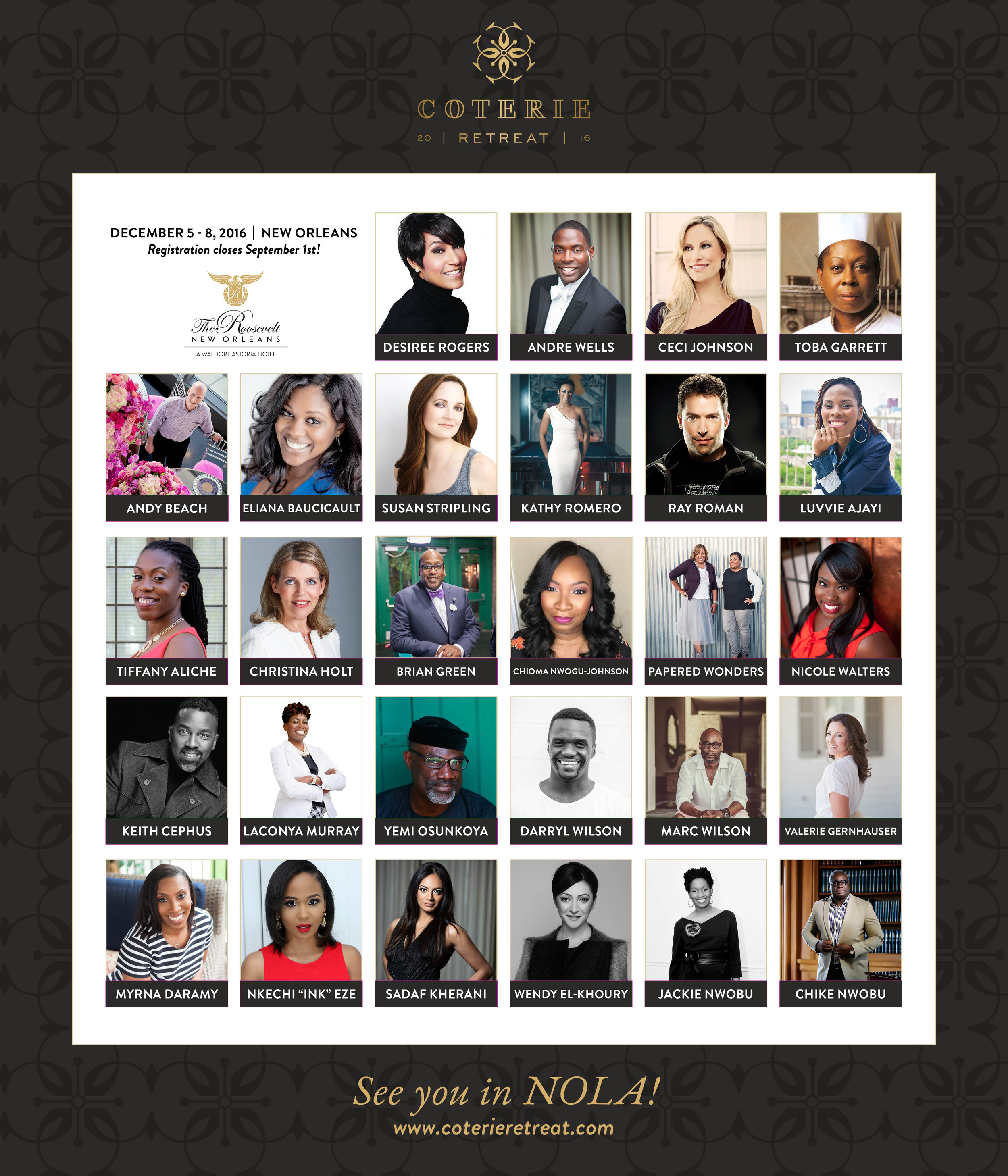coterie retreat speakers