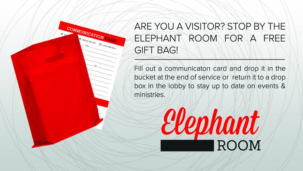 Visitor Bag & Com Card Slide