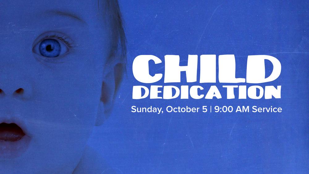 Child Dedication Slide