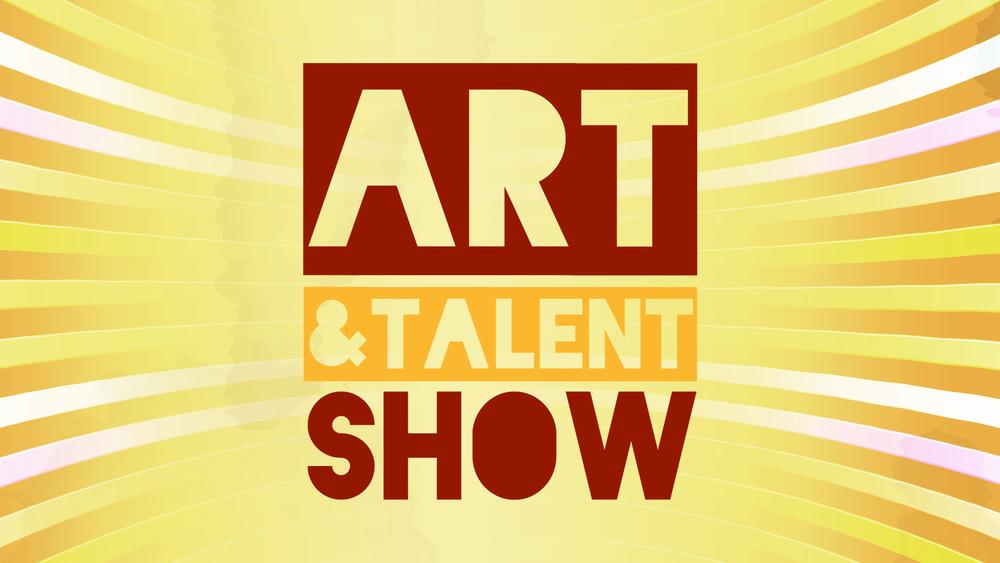 Art & Talent Show Graphic