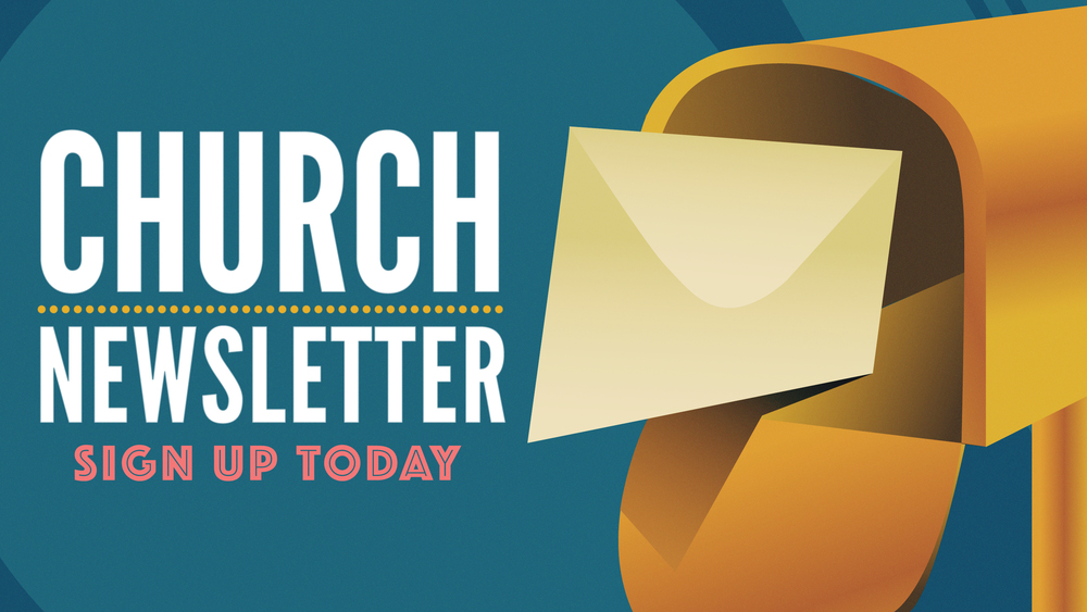 Church Newsletter Slide
