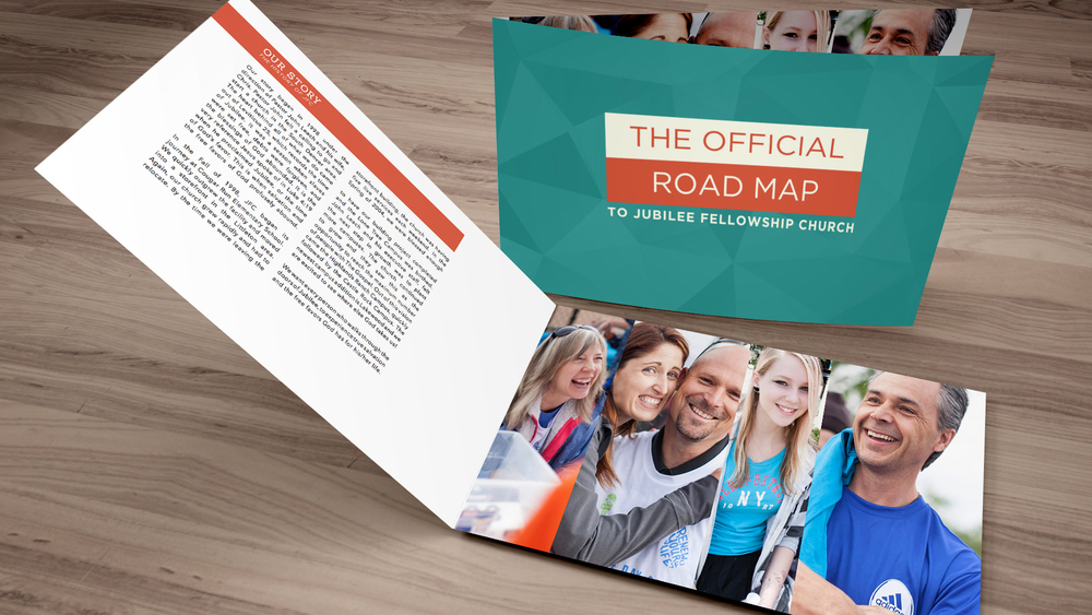 welcome booklet adobe indesign template one church resource