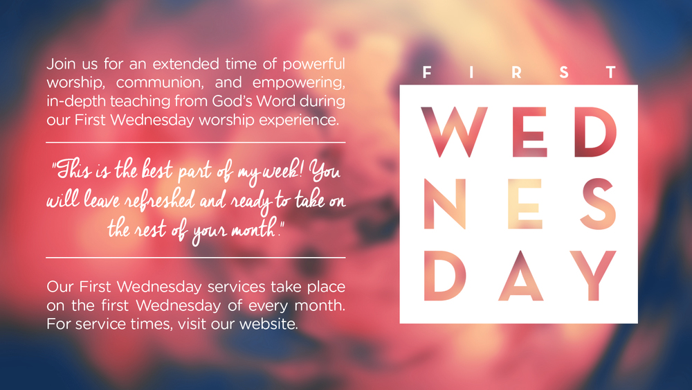 First Wednesday Slide