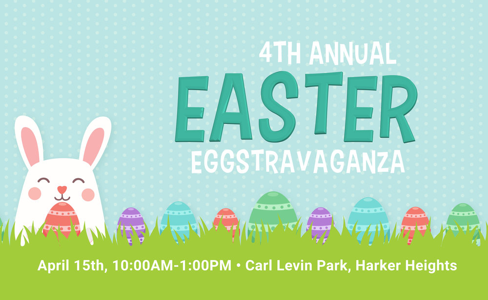 Easter Eggstravaganza Event Graphics