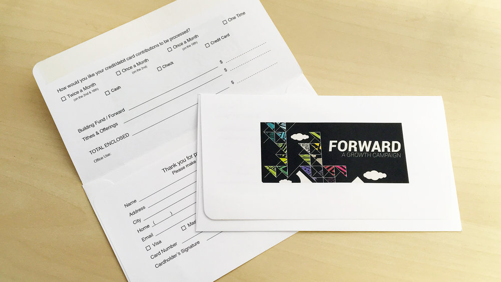 Offering Envelope - Template