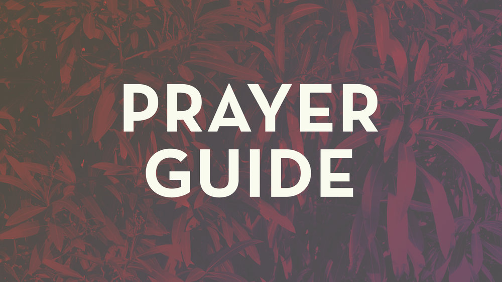 Prayer Guide