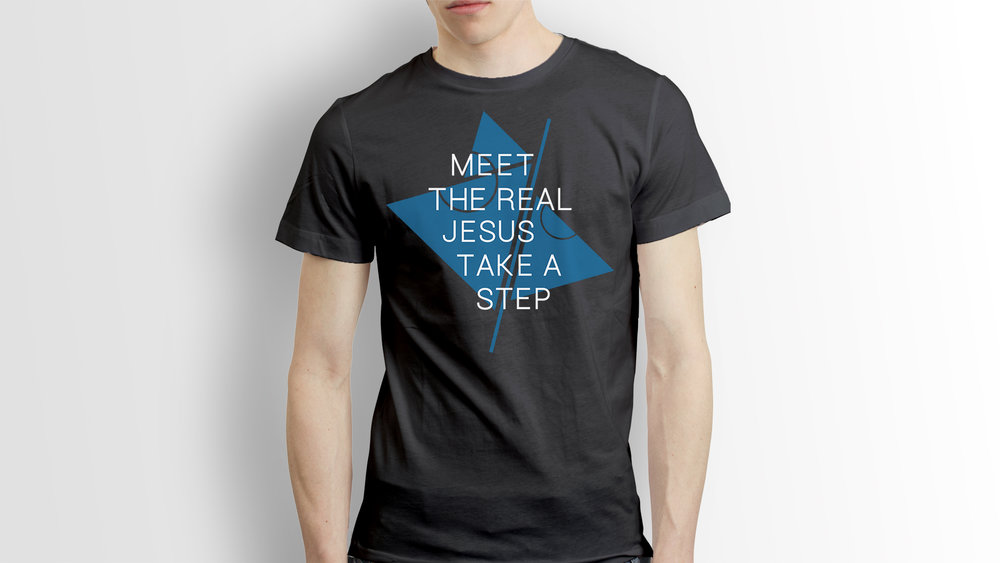 Meet The Real Jesus - T-shirt