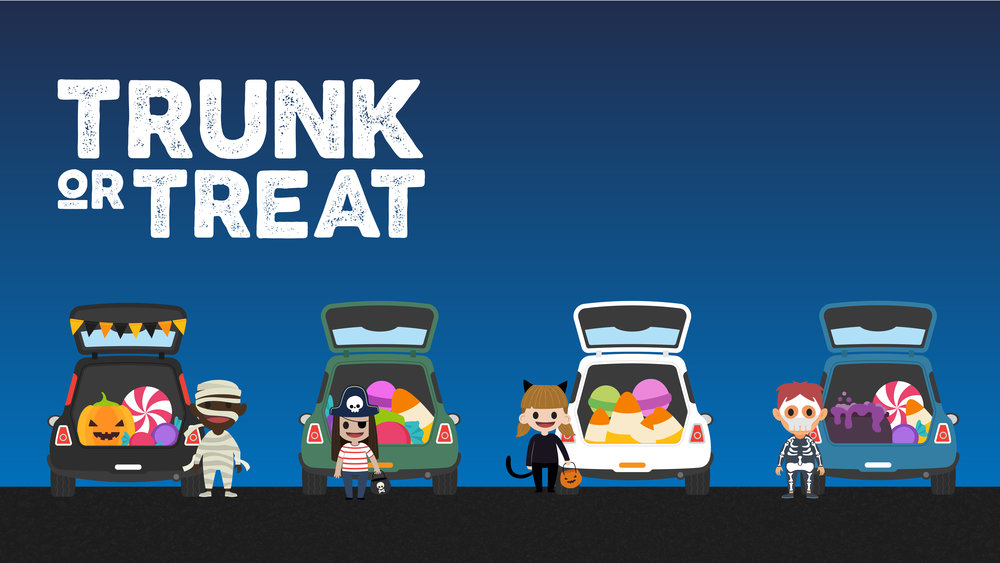 trunk or treat graphics pack one church resource