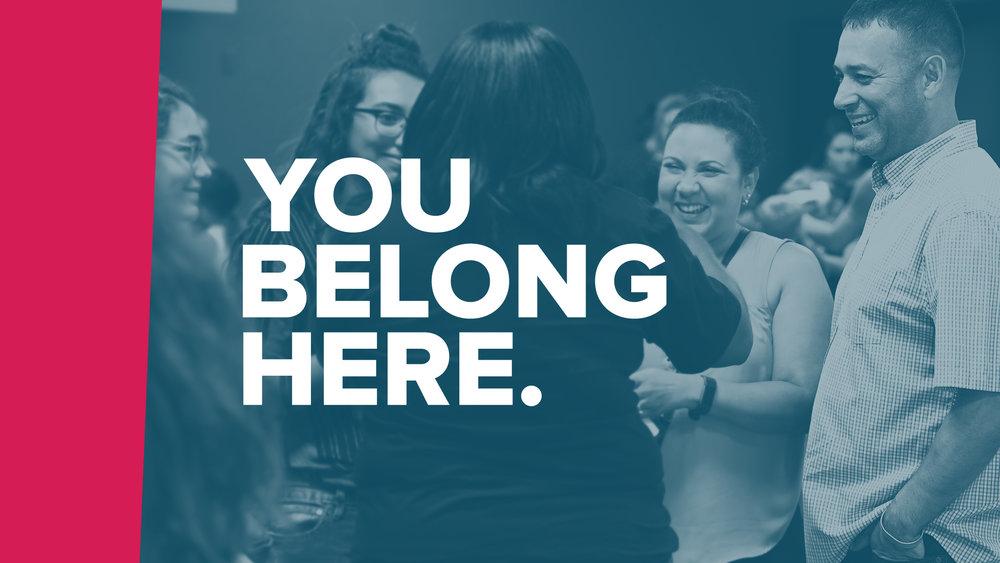 You Belong Here - Graphics