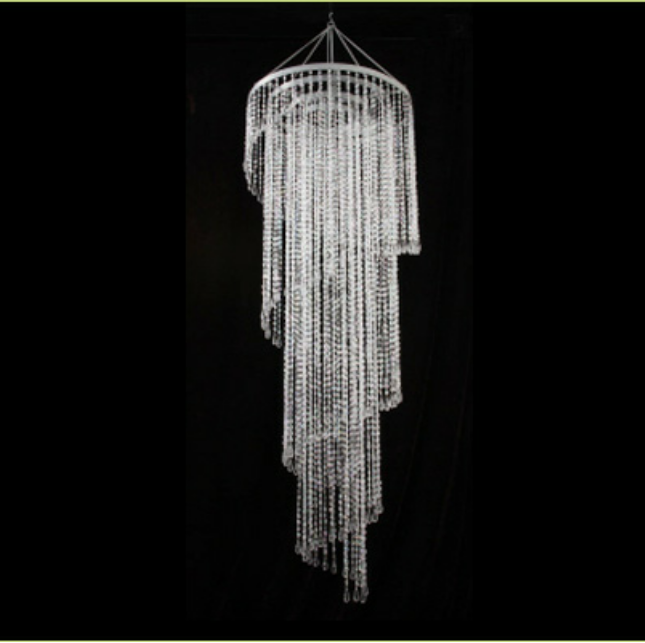 Chandeliers rodriguez imports large spiral chandelier aloadofball Image collections