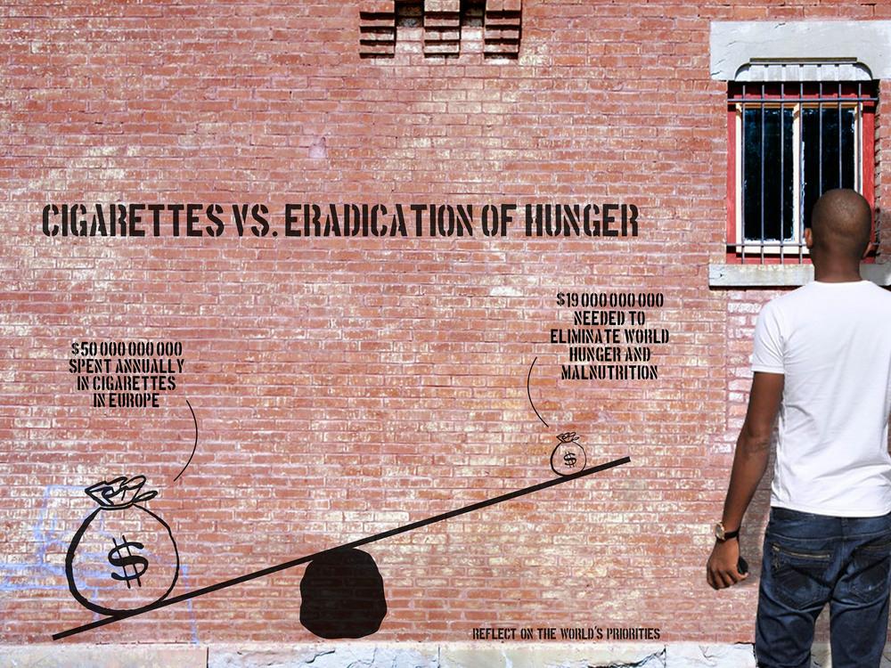 Cigarettes vs. Eradication of Hunger