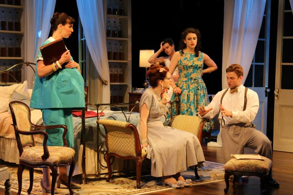 Cat On a Hot Tin Roof. Chatauqua Theater Company.