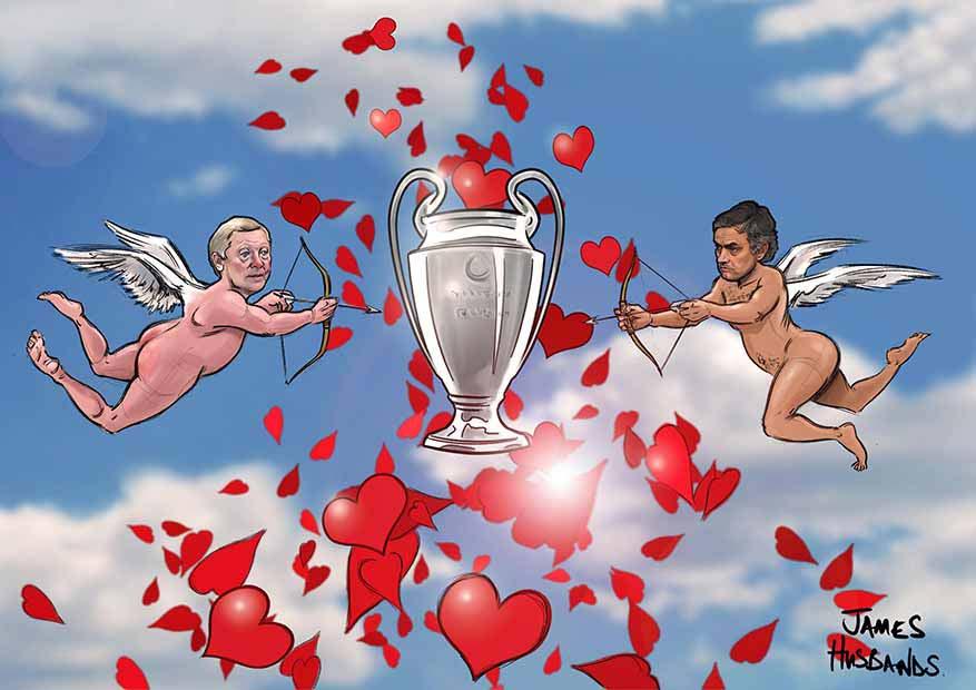 Sir Alex v Mourinho
