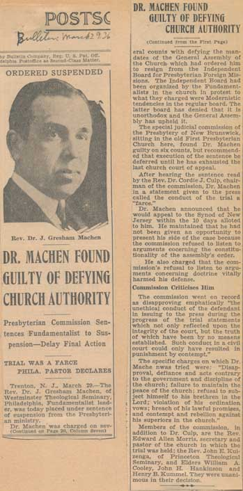Machen found guilty