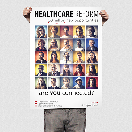 Healthcare Ad for e-Integrate