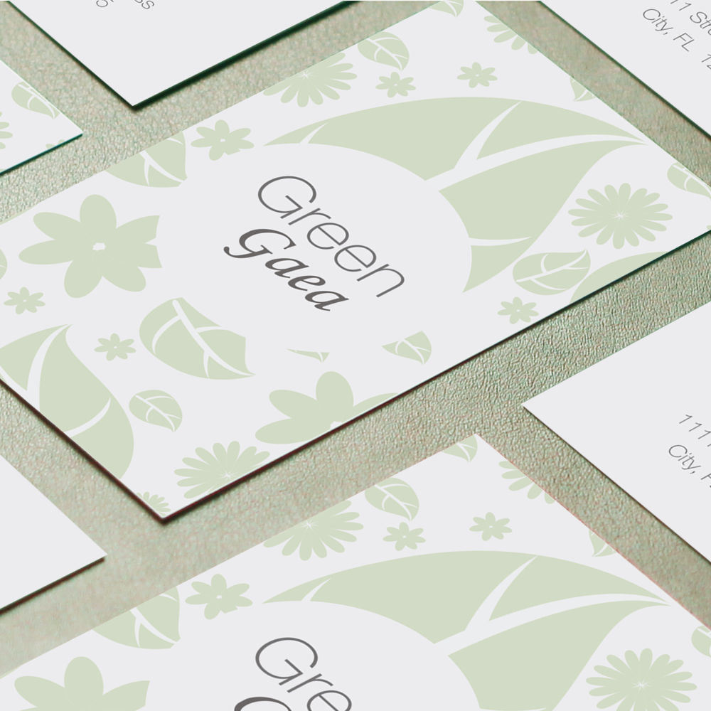 Brand Collateral for Green Gaea