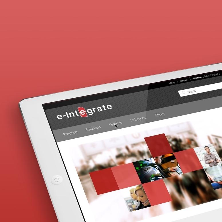 Website for e-Integrate