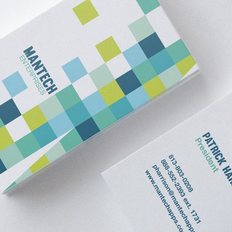 Brand Collateral for ManTech