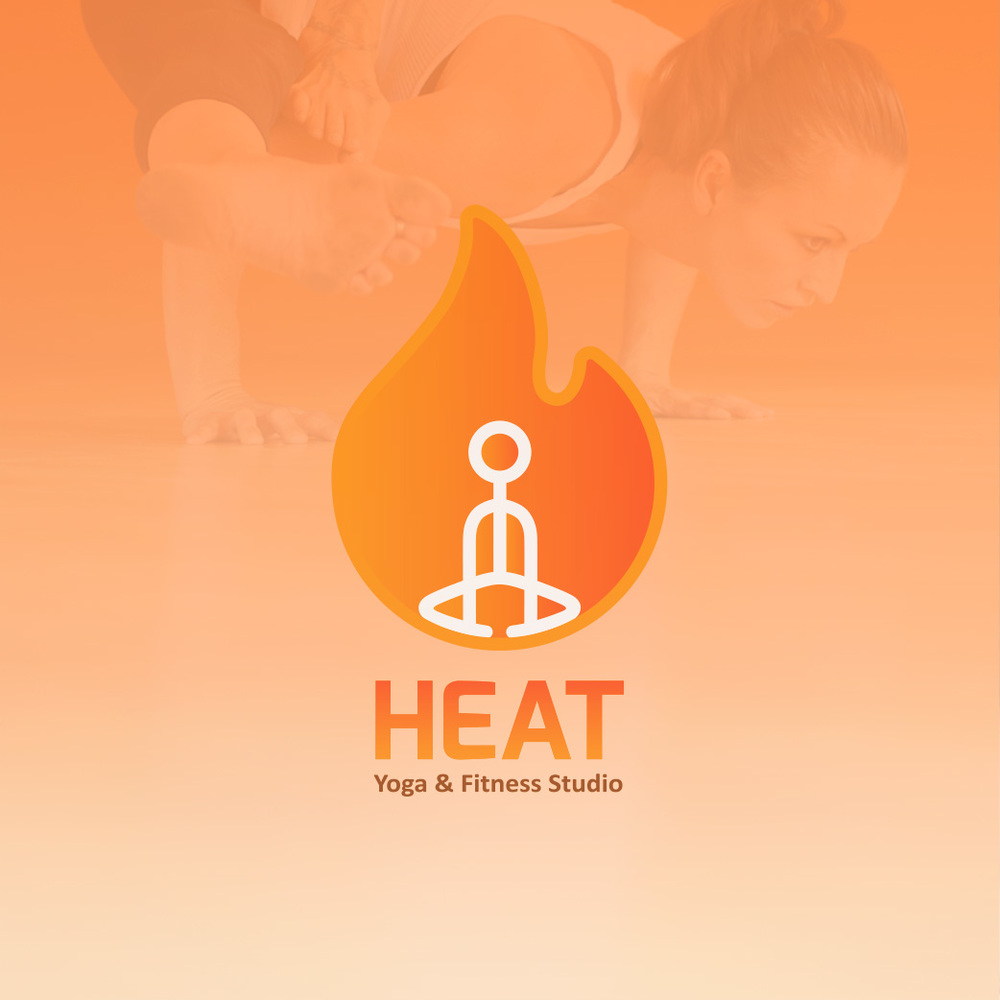 Brand Collateral for Heat Yoga