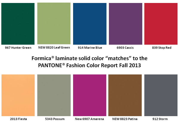 Formica Laminate Solid Color Matches to Pantone Fashion Color Report Fall 2013.jpg