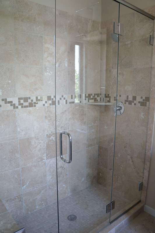 Kinner Built Homes - West 31st Street Development - Bathroom Shower