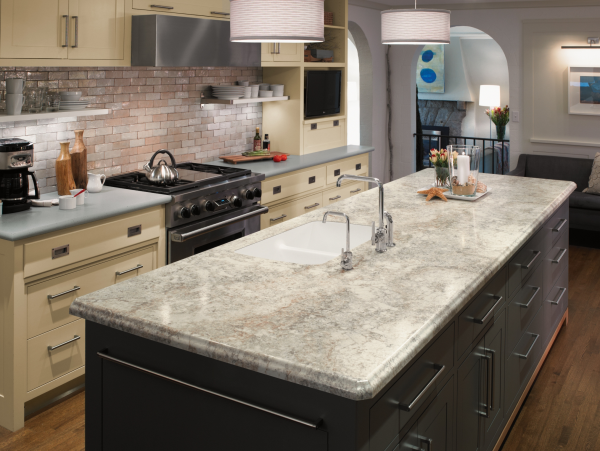 5 tips for mixing cabinet colors american cabinet flooring inc Kitchen design mixed cabinets
