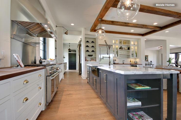10 countertop mashups for the kitchen — american cabinet