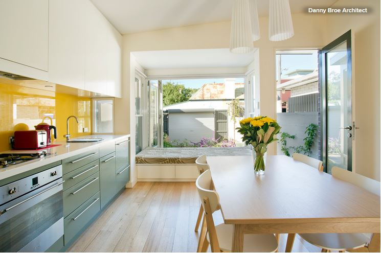Kitchen color: 7 sensational yellow backsplashes — american ...