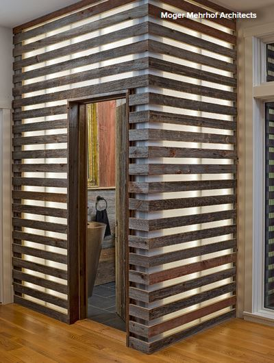 How To Bring The Beauty Of Reclaimed Wood To The Bath American