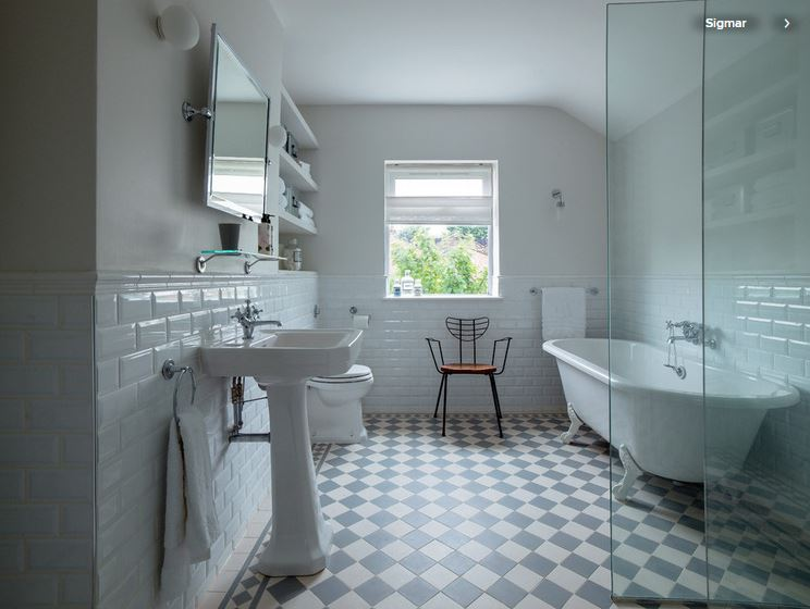 Tips For Mixing And Matching Tile Styles American Cabinet - 6 different types wall tiles