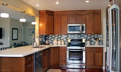american cabinet flooring inc is proud to offer the largest selection of cabinets countertops and flooring anywhere in denver colorado - Denver Kitchen Cabinets