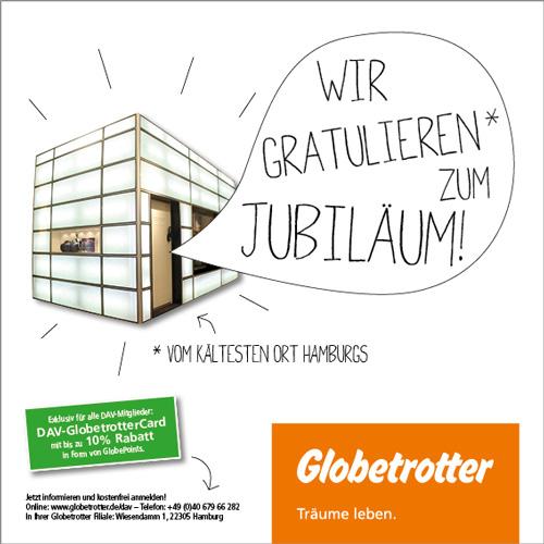 Anzeige Jubiläumsschrift / DAV Hamburg
