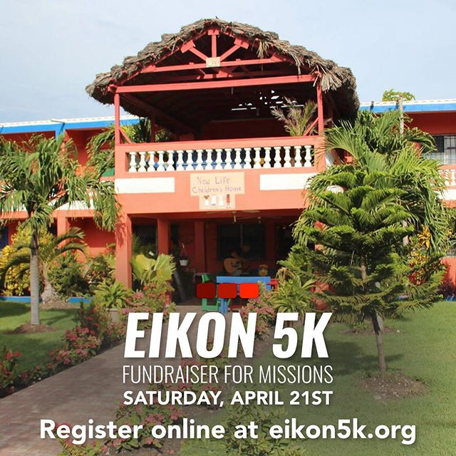 One of the many organizations that benefits from our Eikon 5k is New Life Children's Home in Port Au Prince, Haiti! Sign up today to help us continue to support this great ministry!