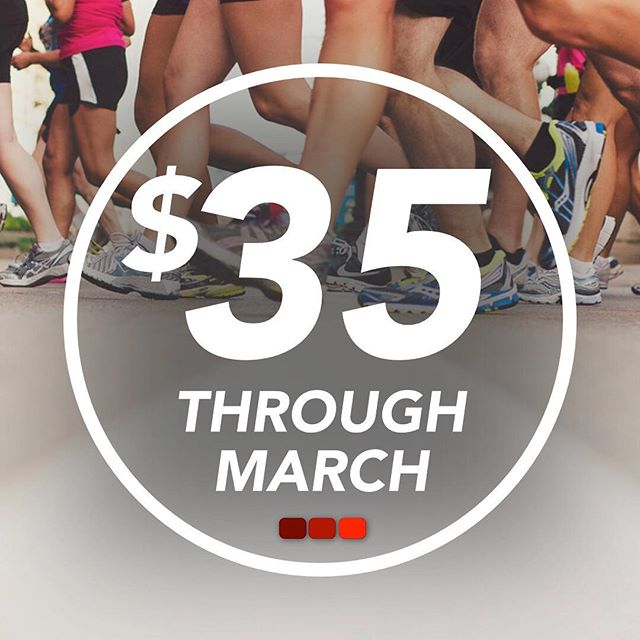 Don't wait! Sign up in the next 12 days before registration goes up to $45 for the month of April!