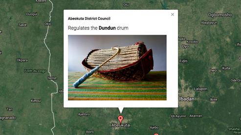 Map-based law & drum explorer