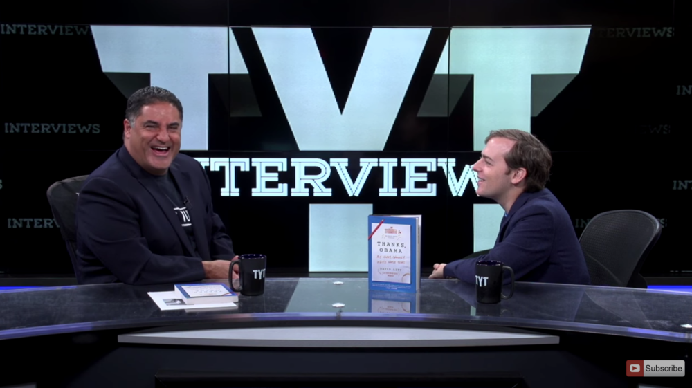 A lively interview with cenk Uygur of The Young Turks network
