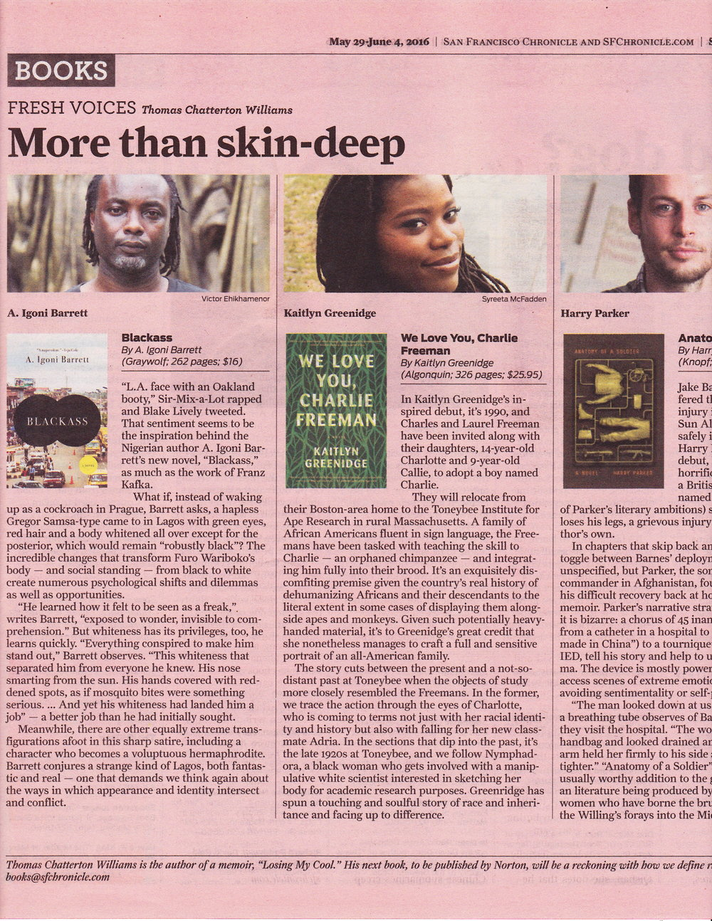a great piece about blackass in the san francisco chronicle.